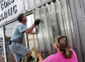 hurricane shutters installation